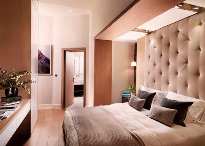 Knightsbridge, London: Bedroom