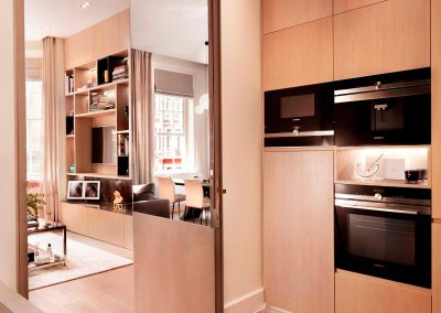 Knightsbridge, London: Kitchen