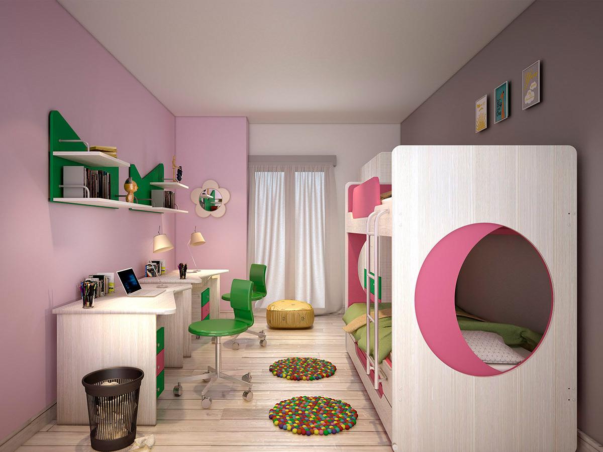 παιδικό δωμάτιο luna (kouketa)