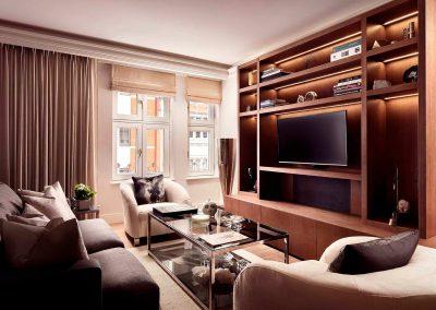 Mayfair, London: Living room