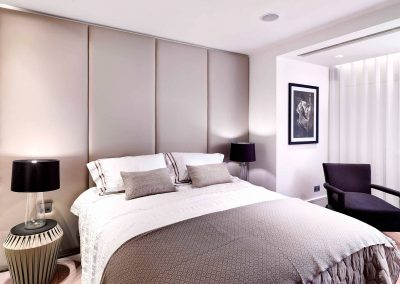 Princes Gate, London: Bedroom