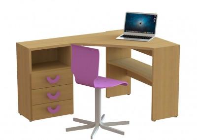 angolo: γραφείο 87,5×87,5cm