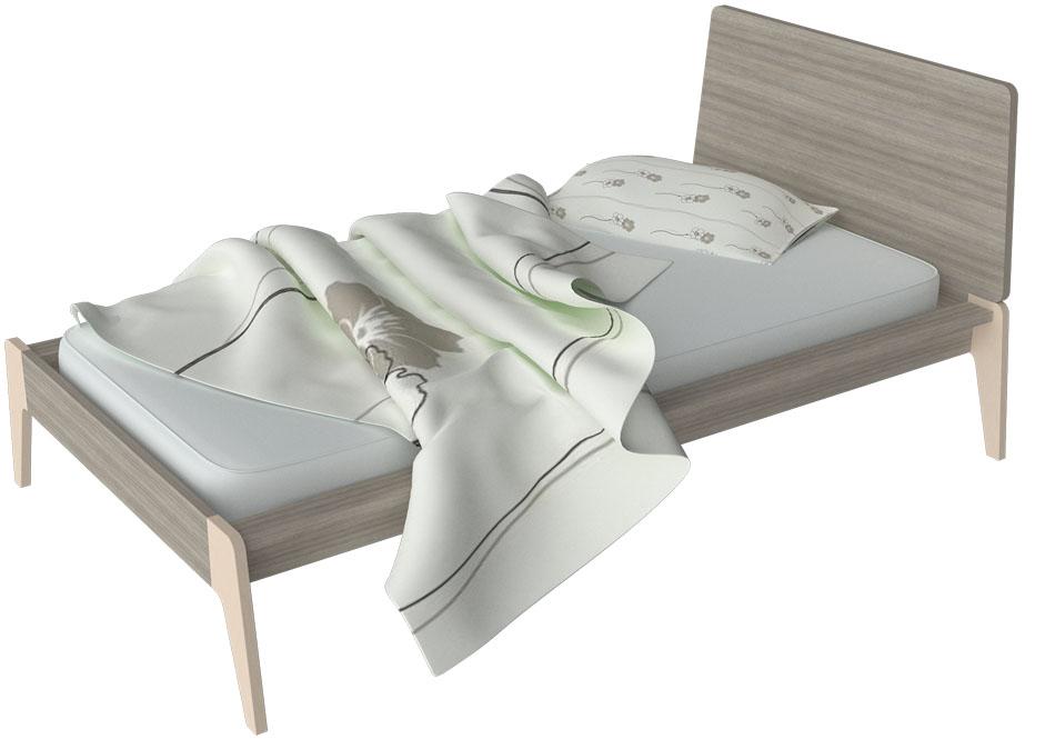 arco: μονό παιδικό κρεβάτι