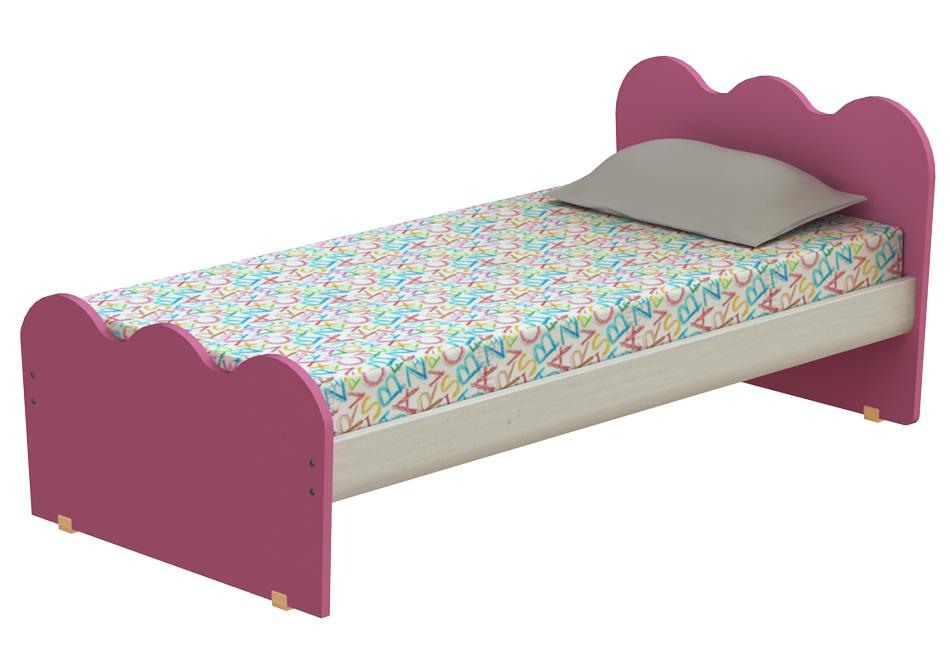 crown: μονό παιδικό κρεβάτι, πλάτους 100cm – παιδικά κρεβάτια