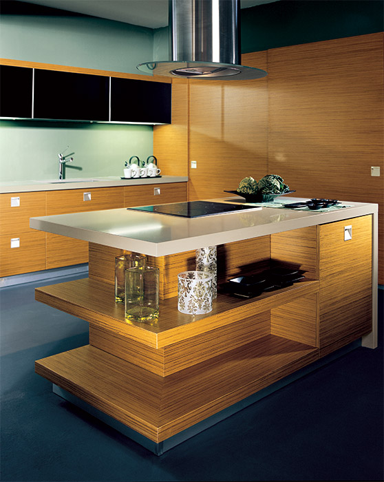 disco modern kitchen