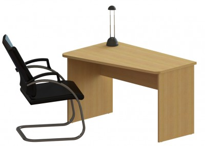 focus: αυτόνομο γραφείο 117,5x75cm και καπάκι γραφείου 117,5x74cm