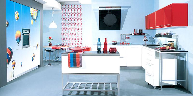 μοντέρνες κουζίνες glossy