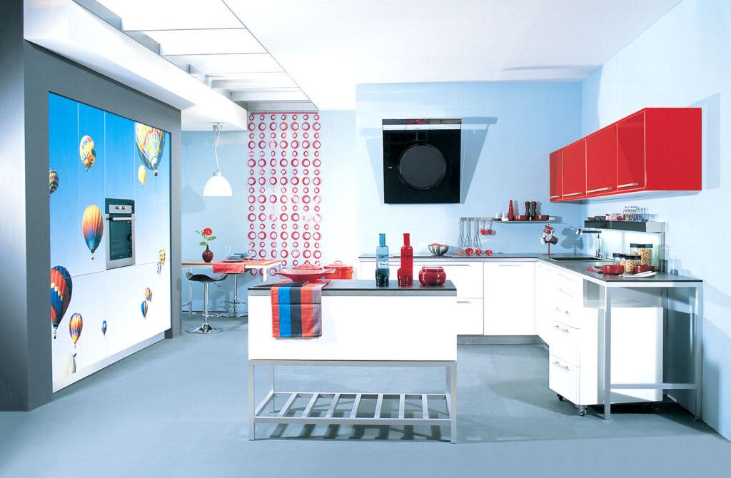 ύφος της κουζίνας eliton glossy