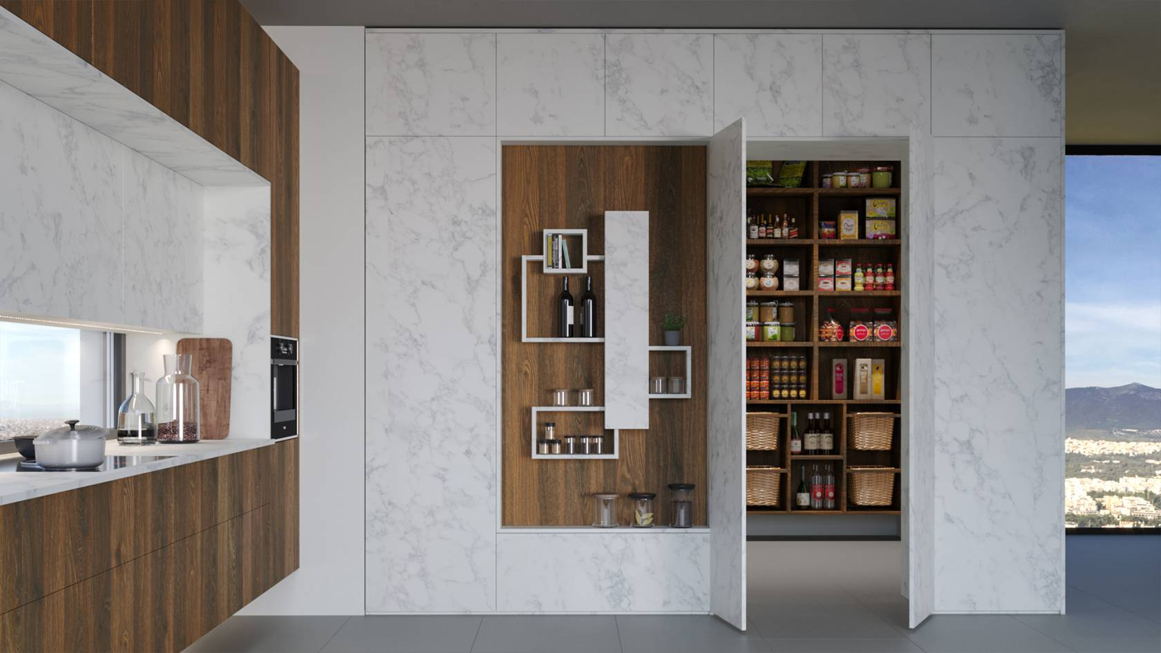 Food storage space (Pantry)