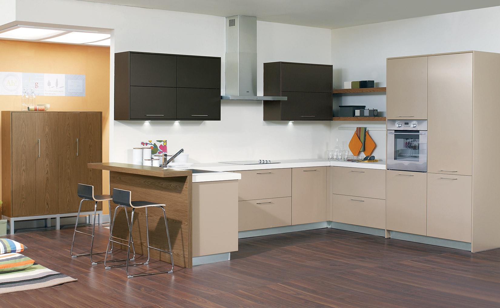 lava modern kitchen