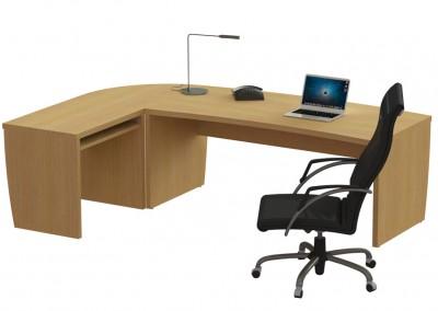 leonardo: γραφείο 180x80cm