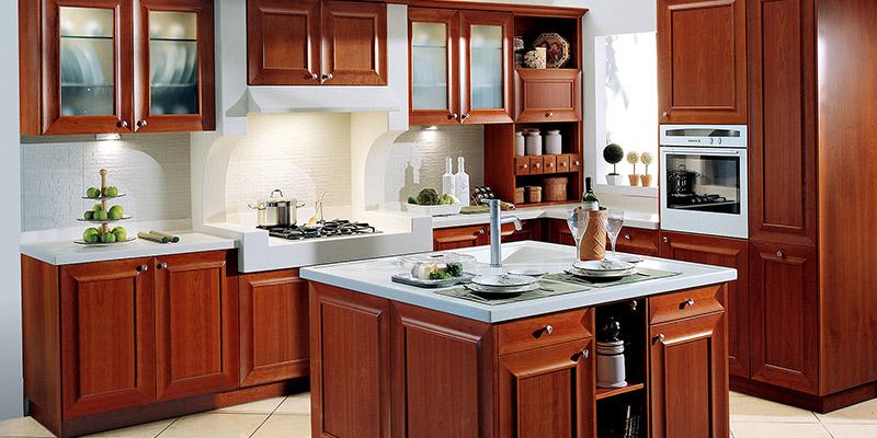 κλασική κουζίνα loft