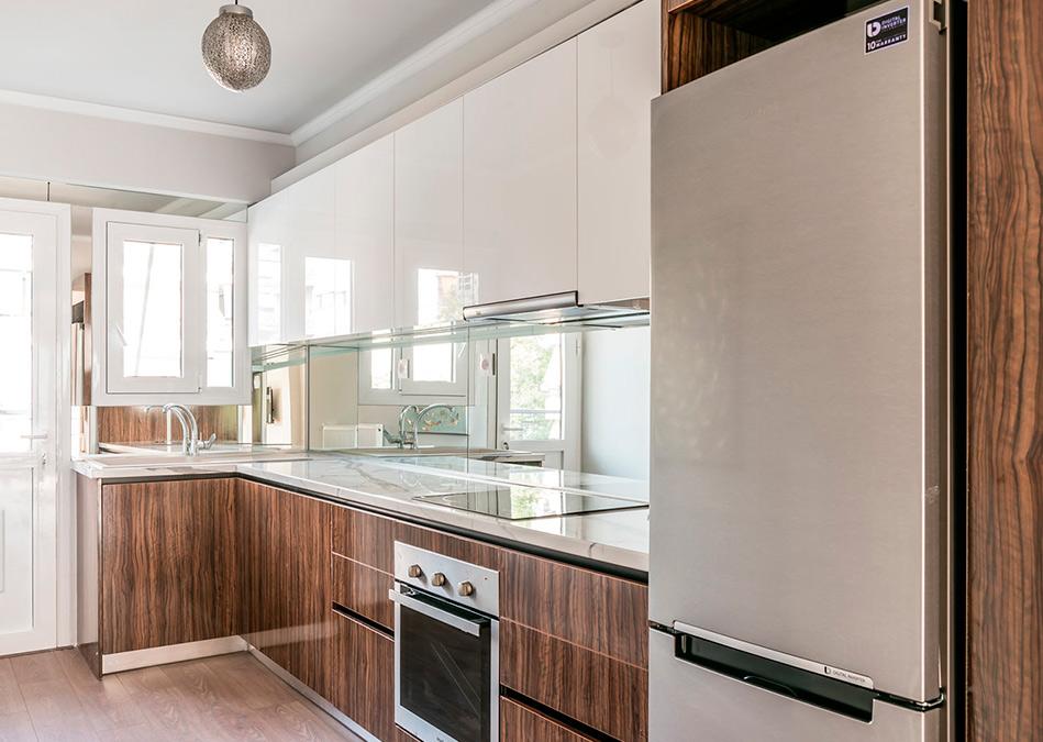 Σχεδιασμός μικρής κουζίνας eliton kitchen