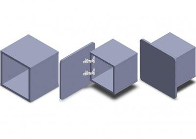 nuvola: τετραγωνισμένο κουτί