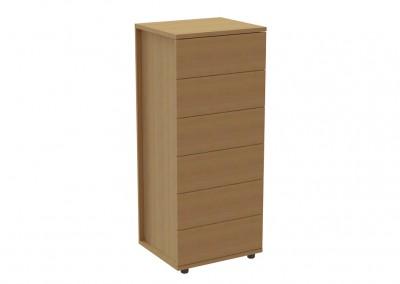 prima 6: συρταριέρα 60×51,8×139,8cm