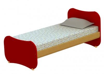 track: μονό κρεβάτι πλάτους 100cm