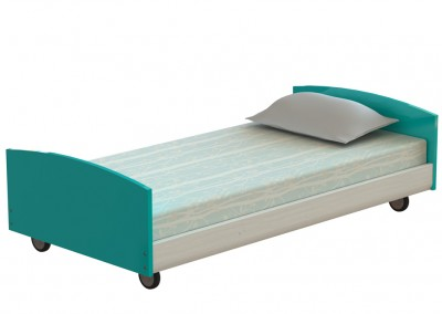 wheeled bed