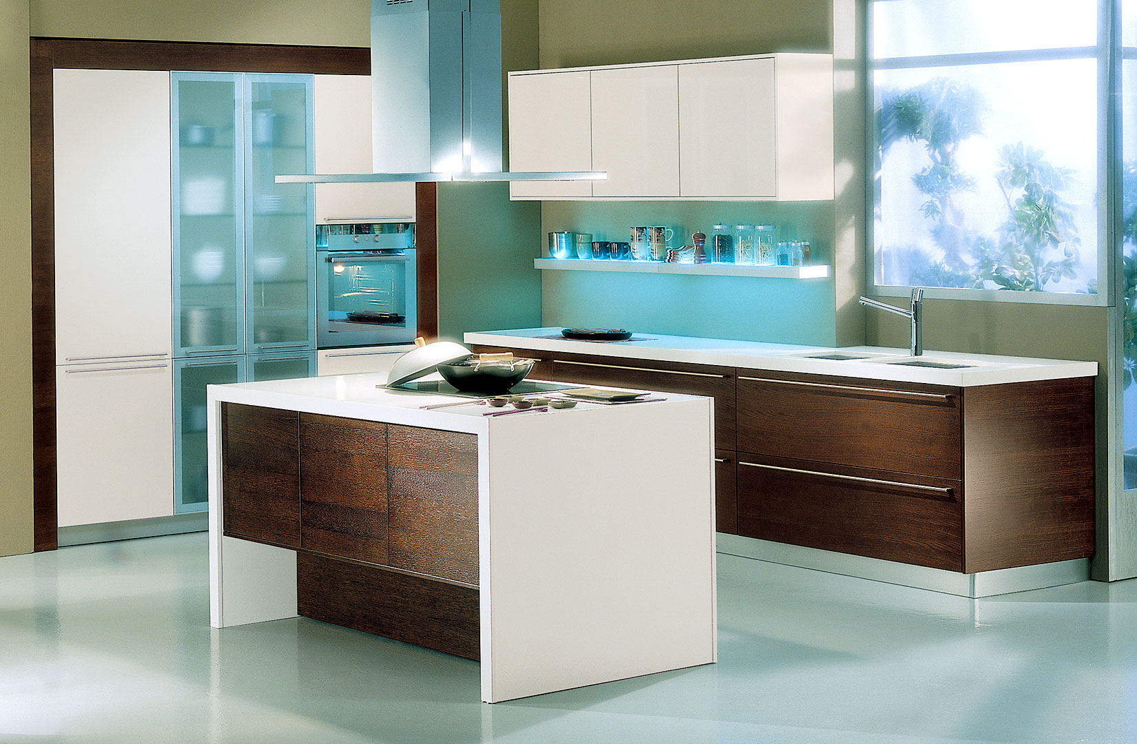 work modern kitchen