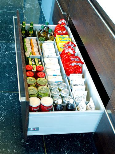 work: διαχωριστικό τροφίμων για βαγονέτο